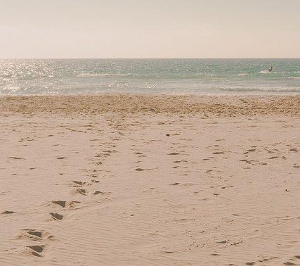 la plage de tarifa kite surf