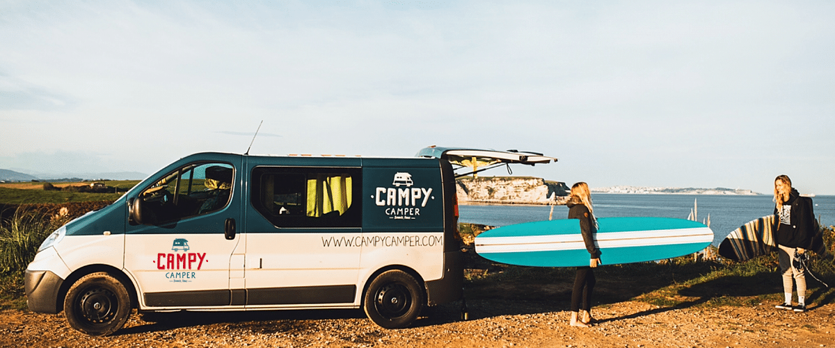 surf girls en campervan au Portugal